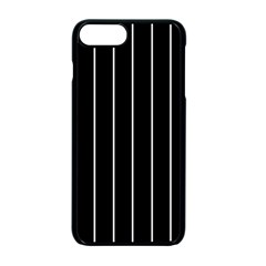 Black And White Lines Apple Iphone 7 Plus Seamless Case (black) by Valentinaart
