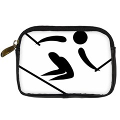 Archery Skiing Pictogram Digital Camera Cases by abbeyz71