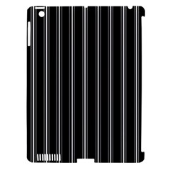 Black And White Lines Apple Ipad 3/4 Hardshell Case (compatible With Smart Cover) by Valentinaart
