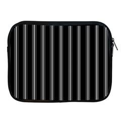 Black And White Lines Apple Ipad 2/3/4 Zipper Cases by Valentinaart