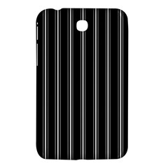 Black And White Lines Samsung Galaxy Tab 3 (7 ) P3200 Hardshell Case  by Valentinaart