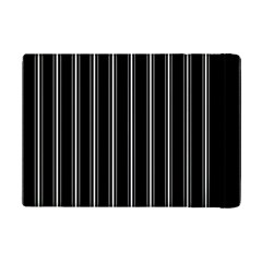 Black And White Lines Ipad Mini 2 Flip Cases by Valentinaart