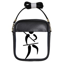 Arnis Pictogram Girls Sling Bags by abbeyz71