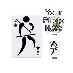 Arnis Pictogram Playing Cards 54 (mini)  by abbeyz71