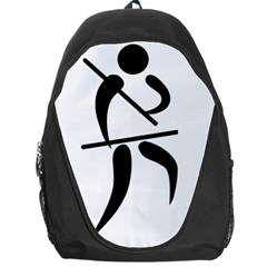 Arnis Pictogram Backpack Bag by abbeyz71