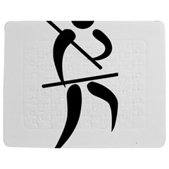 Arnis Pictogram Jigsaw Puzzle Photo Stand (rectangular) by abbeyz71