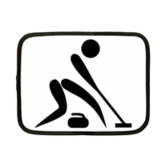Curling Pictogram  Netbook Case (small)  by abbeyz71