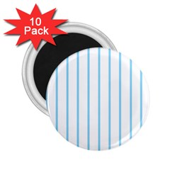 Blue Lines 2 25  Magnets (10 Pack)