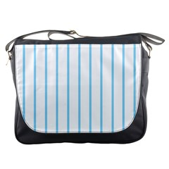 Blue Lines Messenger Bags