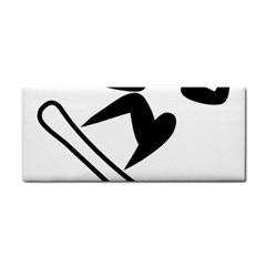 Snowboarding Pictogram  Cosmetic Storage Cases by abbeyz71