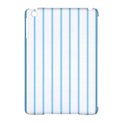 Blue Lines Apple Ipad Mini Hardshell Case (compatible With Smart Cover) by Valentinaart