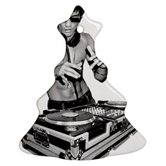 Bruce Lee Dj Ornament (christmas Tree)  by offbeatzombie