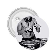 Bruce Lee Dj 2 25  Buttons by offbeatzombie