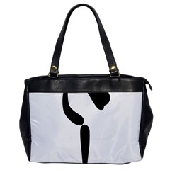 Artistic Roller Skating Pictogram Office Handbags by abbeyz71