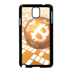 Network Bitcoin Currency Connection Samsung Galaxy Note 3 Neo Hardshell Case (black) by Amaryn4rt