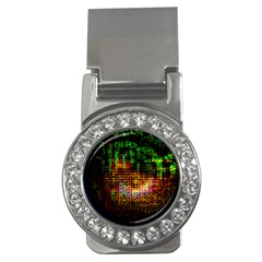 Radar Kaleidoscope Pattern Money Clips (cz)