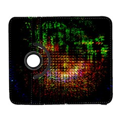 Radar Kaleidoscope Pattern Galaxy S3 (flip/folio) by Amaryn4rt