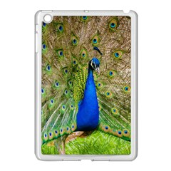 Peacock Animal Photography Beautiful Apple Ipad Mini Case (white) by Amaryn4rt