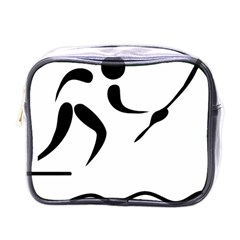 Assault Course Pictogram Mini Toiletries Bags