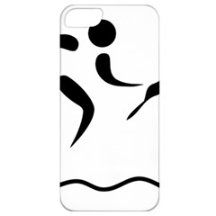Assault Course Pictogram Apple Iphone 5 Classic Hardshell Case by abbeyz71