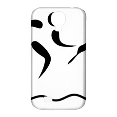 Assault Course Pictogram Samsung Galaxy S4 Classic Hardshell Case (pc+silicone) by abbeyz71