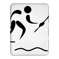 Assault Course Pictogram Samsung Galaxy Tab 4 (10 1 ) Hardshell Case  by abbeyz71