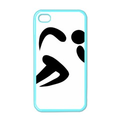 Athletics Pictogram Apple Iphone 4 Case (color) by abbeyz71