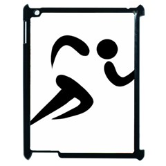Athletics Pictogram Apple Ipad 2 Case (black) by abbeyz71