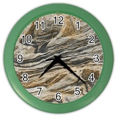 Rock Texture Background Stone Color Wall Clocks