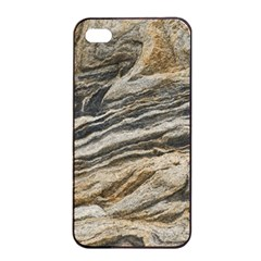 Rock Texture Background Stone Apple Iphone 4/4s Seamless Case (black) by Amaryn4rt