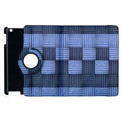 Texture Structure Surface Basket Apple Ipad 3/4 Flip 360 Case by Amaryn4rt