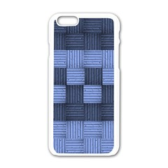Texture Structure Surface Basket Apple Iphone 6/6s White Enamel Case by Amaryn4rt
