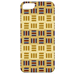 Textile Texture Fabric Material Apple Iphone 5 Classic Hardshell Case by Amaryn4rt