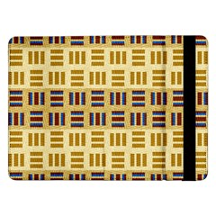Textile Texture Fabric Material Samsung Galaxy Tab Pro 12 2  Flip Case by Amaryn4rt