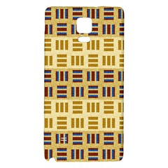 Textile Texture Fabric Material Galaxy Note 4 Back Case by Amaryn4rt