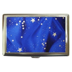 The Substance Blue Fabric Stars Cigarette Money Cases by Amaryn4rt