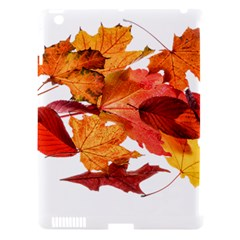 Autumn Leaves Leaf Transparent Apple Ipad 3/4 Hardshell Case (compatible With Smart Cover) by Amaryn4rt
