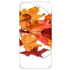 Autumn Leaves Leaf Transparent Apple Iphone 5 Classic Hardshell Case by Amaryn4rt