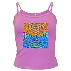Background Color Game Pattern Dark Spaghetti Tank