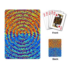 Background Color Game Pattern Playing Card by Amaryn4rt