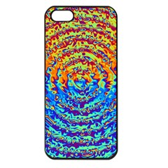 Background Color Game Pattern Apple Iphone 5 Seamless Case (black)