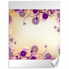 Background Floral Background Canvas 18  X 24   by Amaryn4rt