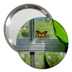 Butterfly #17 3  Handbag Mirrors by litimages