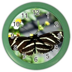 Butterfly #22 Color Wall Clocks