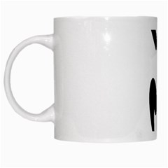 Aéroball Pictogram White Mugs by abbeyz71