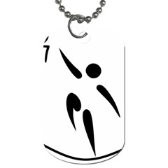 Aéroball Pictogram Dog Tag (two Sides) by abbeyz71