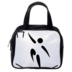 Aéroball Pictogram Classic Handbags (one Side) by abbeyz71