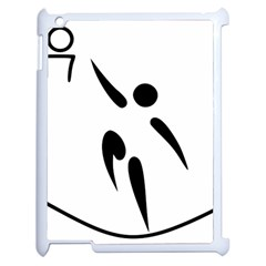 Aéroball Pictogram Apple Ipad 2 Case (white) by abbeyz71