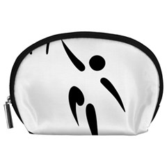Aéroball Pictogram Accessory Pouches (large)  by abbeyz71