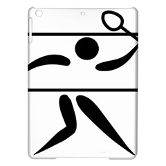 Badminton Pictogram Ipad Air Hardshell Cases by abbeyz71